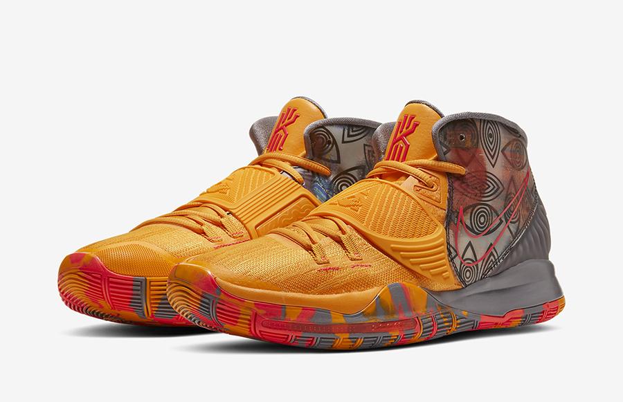 Nike Kyrie 6 Preheat Beijing CQ7634-701 Release