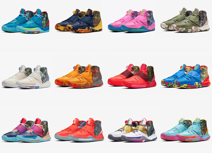 Nike Kyrie 6 Preheat Collection