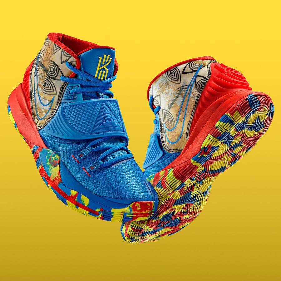 Nike Kyrie 6 Preheat Guangzhou CQ7634-409 Release Date Info