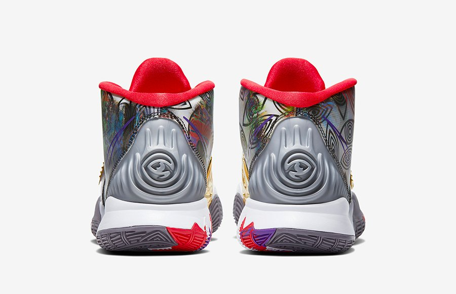 Nike Kyrie 6 Preheat Houston CN9839-100 Release