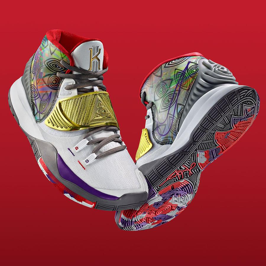 Nike Kyrie 6 Preheat Houston CN9839-100 Release Date Info