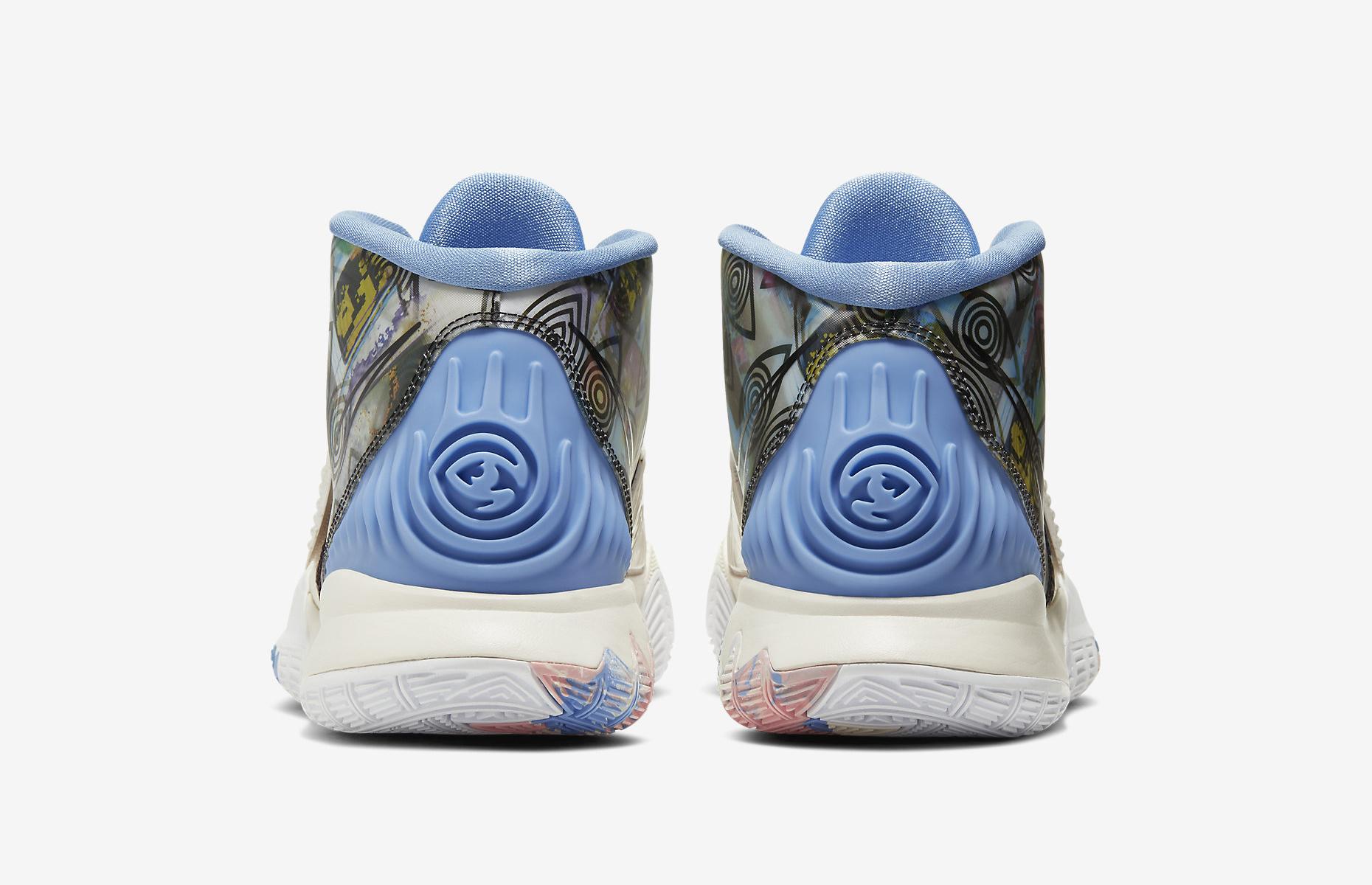 Nike Kyrie 6 Preheat Los Angeles CN9839-101 Release