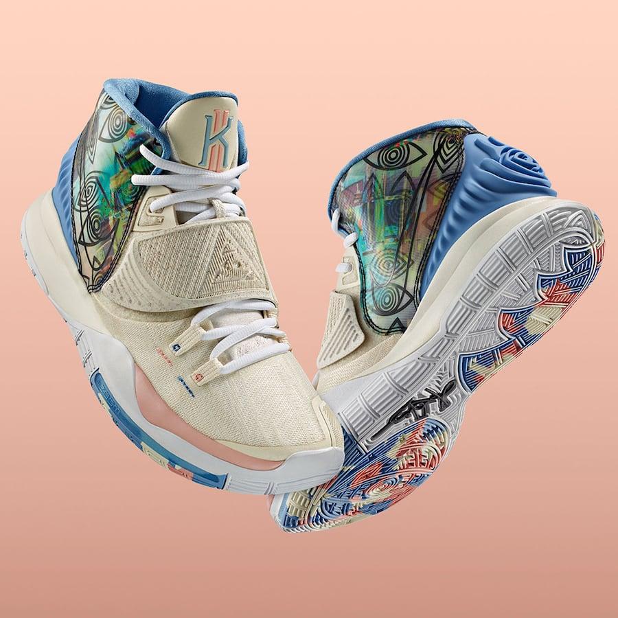 Nike Kyrie 6 Preheat Los Angeles CN9839-101 Release Date Info