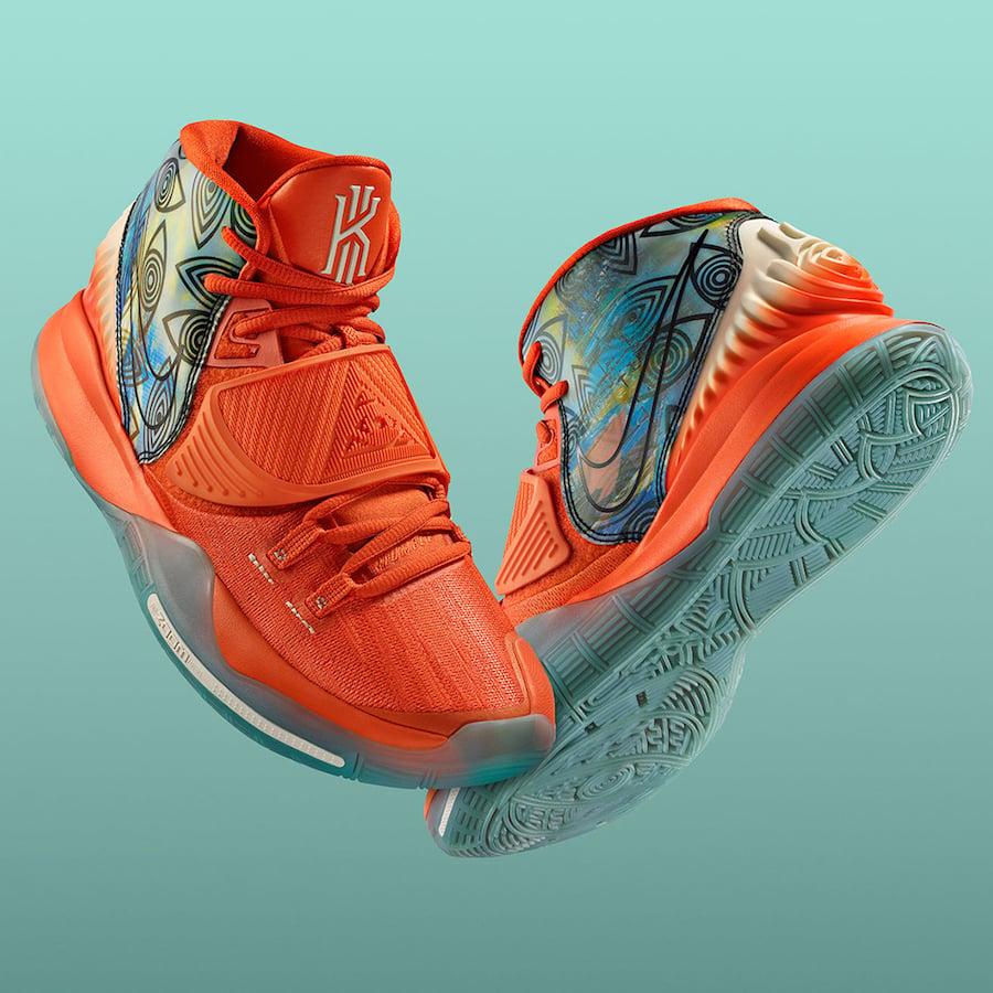 Nike Kyrie 6 Preheat Manilla CQ7634-801 Release Date info
