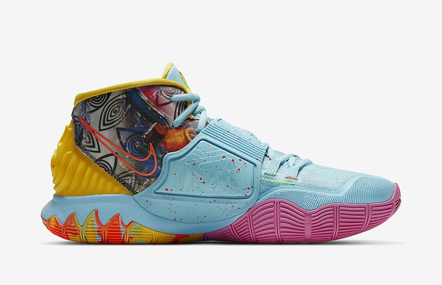 Nike Kyrie 6 Preheat Miami CN9839-404 Release