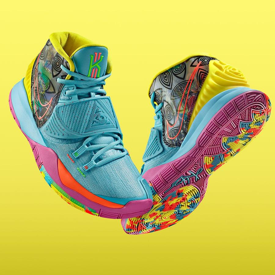 Nike Kyrie 6 Preheat Miami CN9839-404 Release Date Info