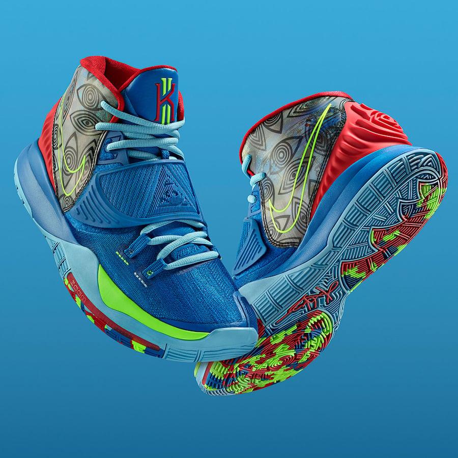 Nike Kyrie 6 Preheat NYC CN9839-401 Release Date Info