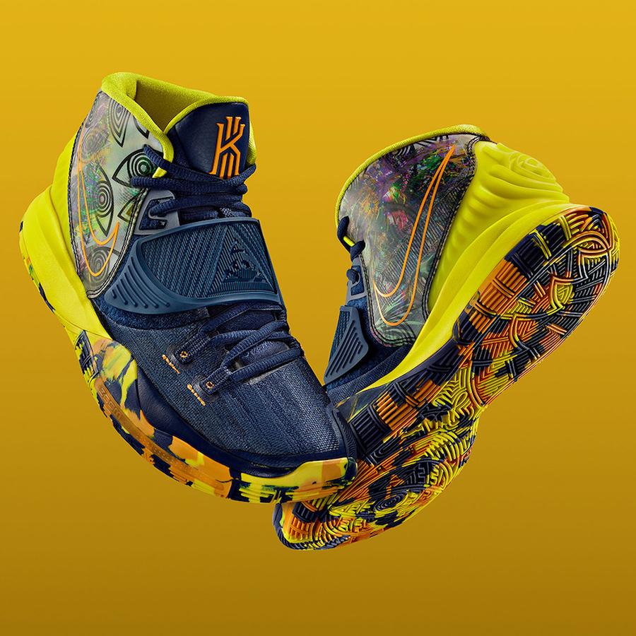 Nike Kyrie 6 Preheat Taipei CQ7634-401 Release Date Info