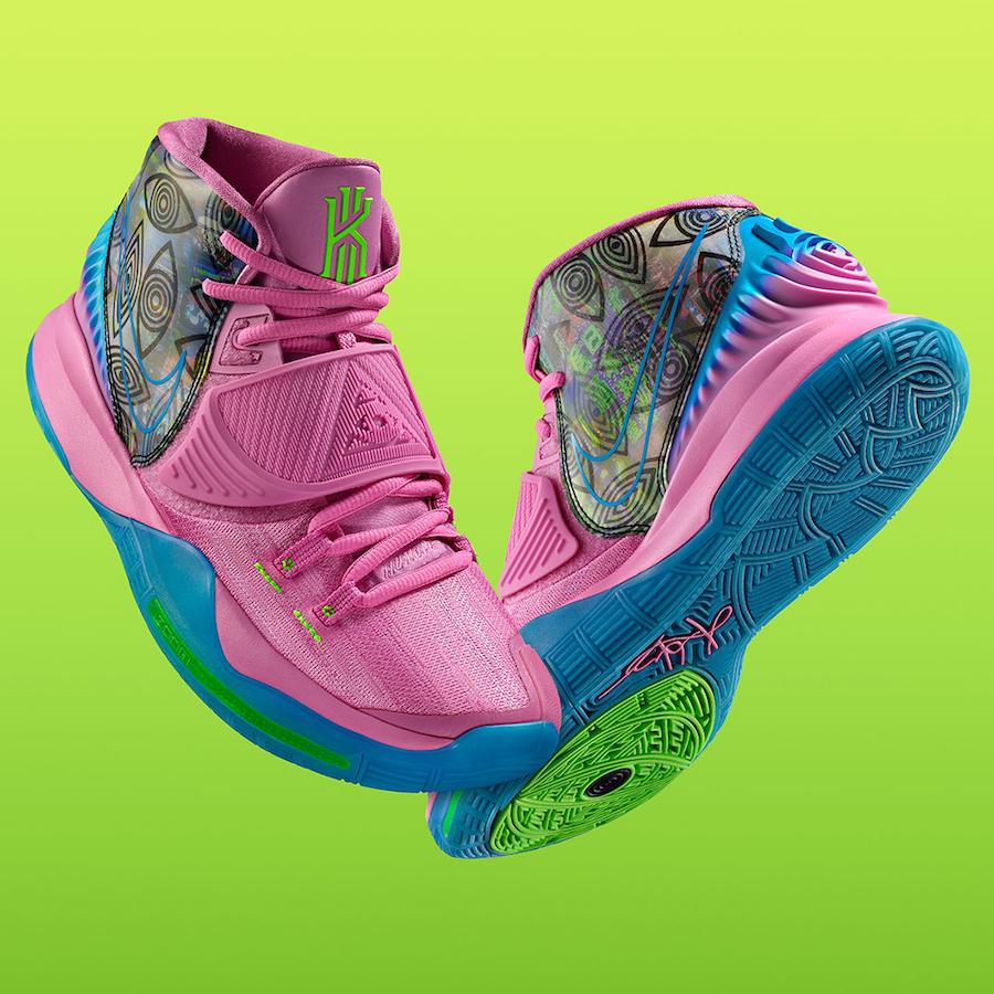 Nike Kyrie 6 Preheat Tokyo CQ7634-601 Release Date Info