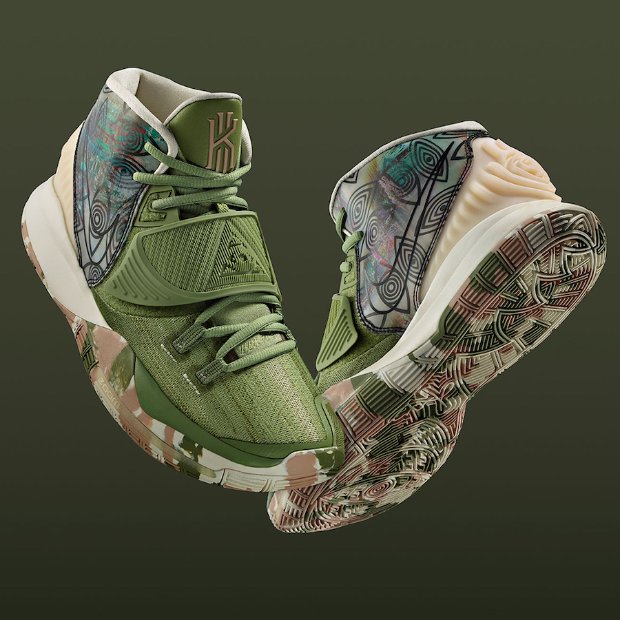 Nike Kyrie 6 Shanghai CQ7634-303 Release Date Info