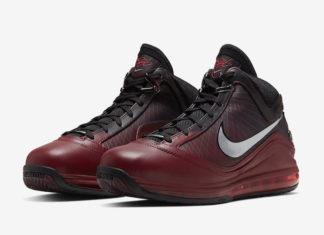Nike LeBron 7 Christmas CU5133-600 2019 Release Date