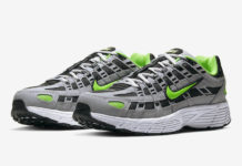 Nike P-6000 Wolf Grey Electric Green CD6404-005 Release Date Info
