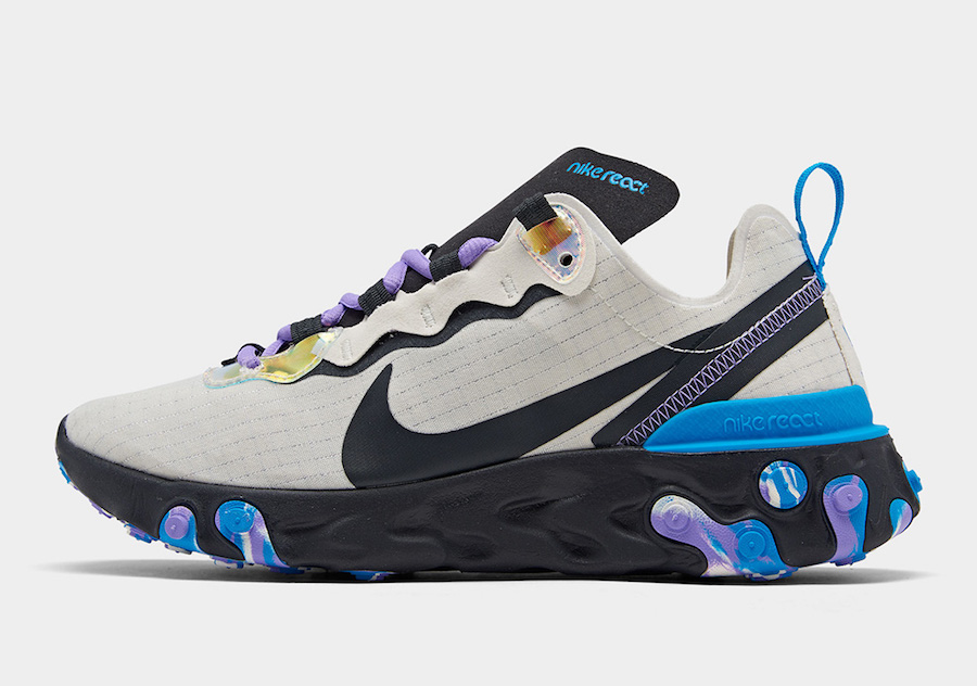 Nike React Element 55 CT1612 001 Release Date |