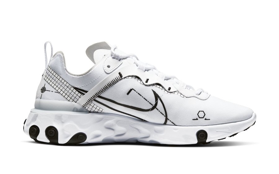 Nike React Element 55 Schematic Release Date Info