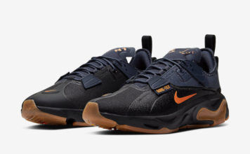 Nike React Type GTX Gore-Tex Black Bright Ceramic Thunder Grey BQ4737-001 Release Date Info