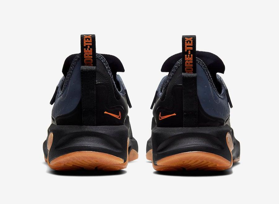 Nike React Type GTX Gore-Tex Black Bright Ceramic Thunder Grey BQ4737-001 Release Date Info
