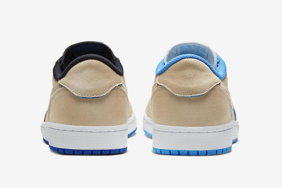 Nike SB Air Jordan 1 Low Desert Ore CJ7891-200 Release