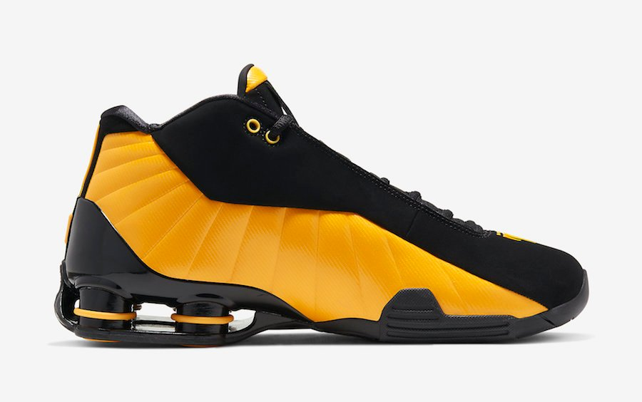 Nike Shox BB4 University Gold AT7843-002 Release Date