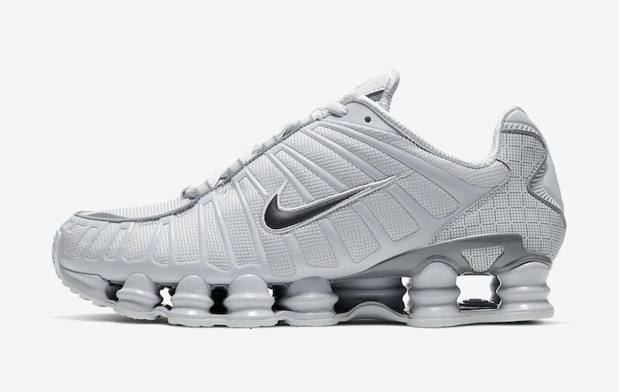 Nike Shox TL Pure Platinum CT3448-001 Release Date Info