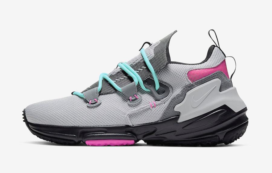 Nike Zoom Moc South Beach Grey Pink Aqua AT8695-002 Release Date Info
