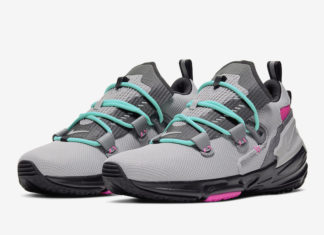Nike Zoom Moc South Beach Grey Pink Aqua AT8695-002 Release Date Info