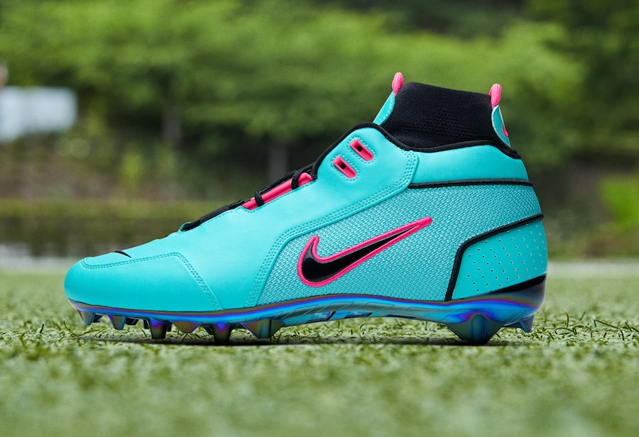 Odell Beckham Jr Nike South Beach Cleats