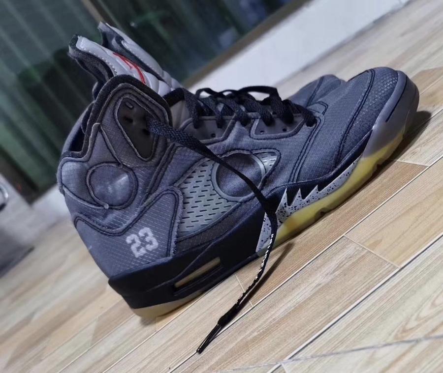 Off-White Air Jordan 5 CT8480-001 Release Date