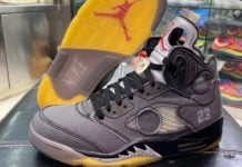 Off-White Air Jordan 5 CT8480-001 Release Date
