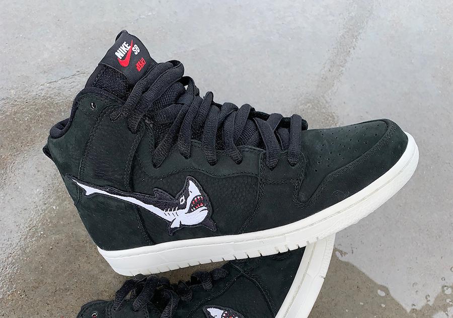 OSKI Nike SB Dunk High Shark Release Date