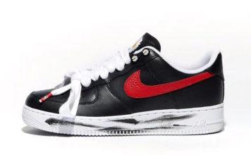 PEACEMINUSONE Nike Air Force 1 Korea Exclusive Red Swoosh Release Date