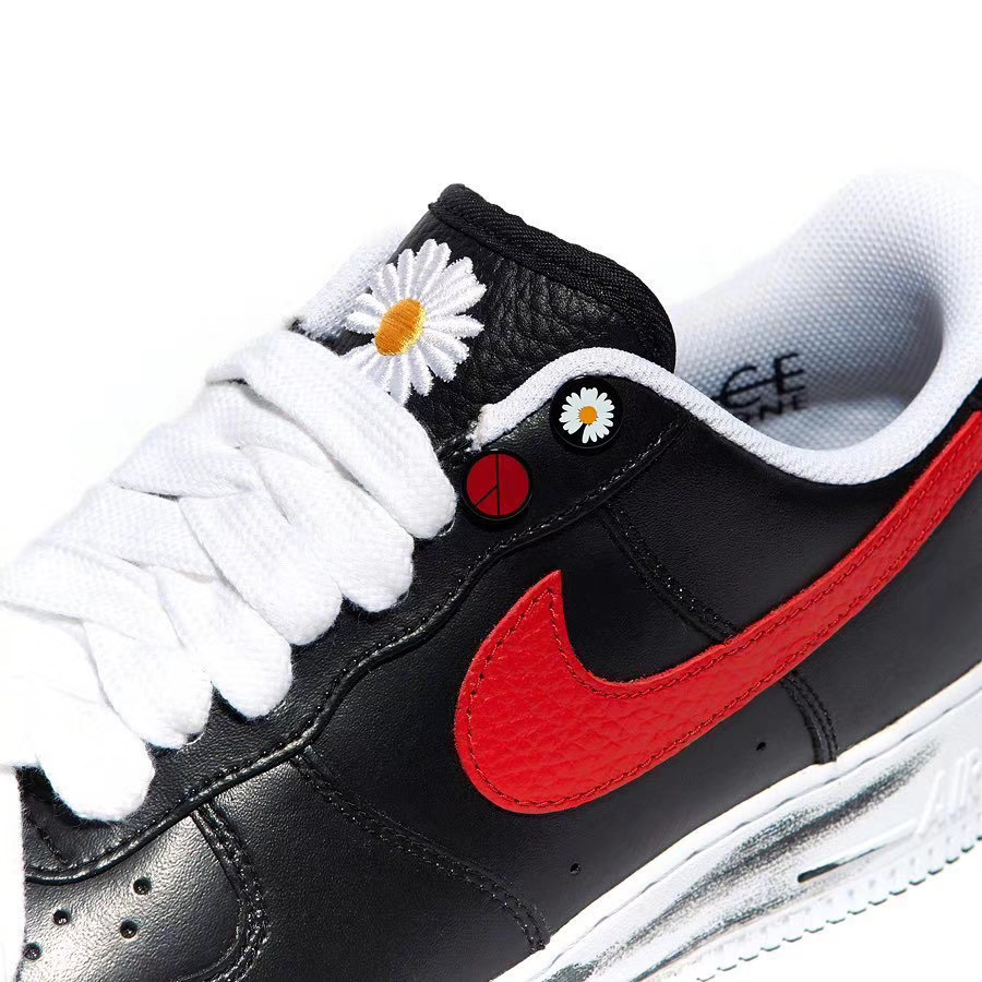 PEACEMINUSONE Nike Air Force 1 Korea Exclusive Red Swoosh Release Date