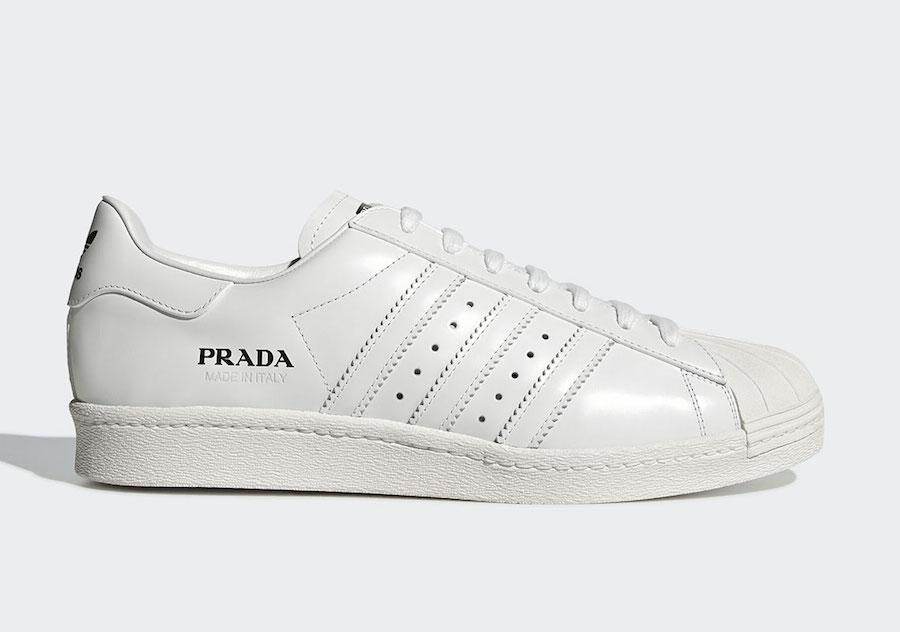 Prada adidas Superstar FW6683 Release Date