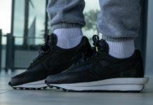 sacai Nike LDWaffle Black Nylon BV0073-002 Release Date Price