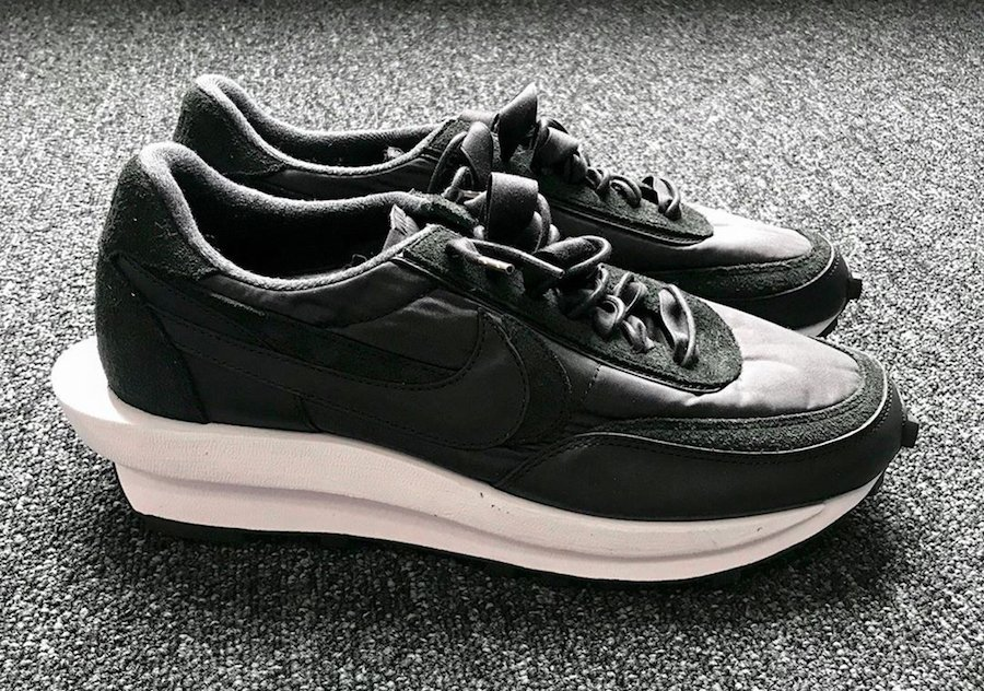 sacai Nike LDWaffle Black White 2020 Release Date Info