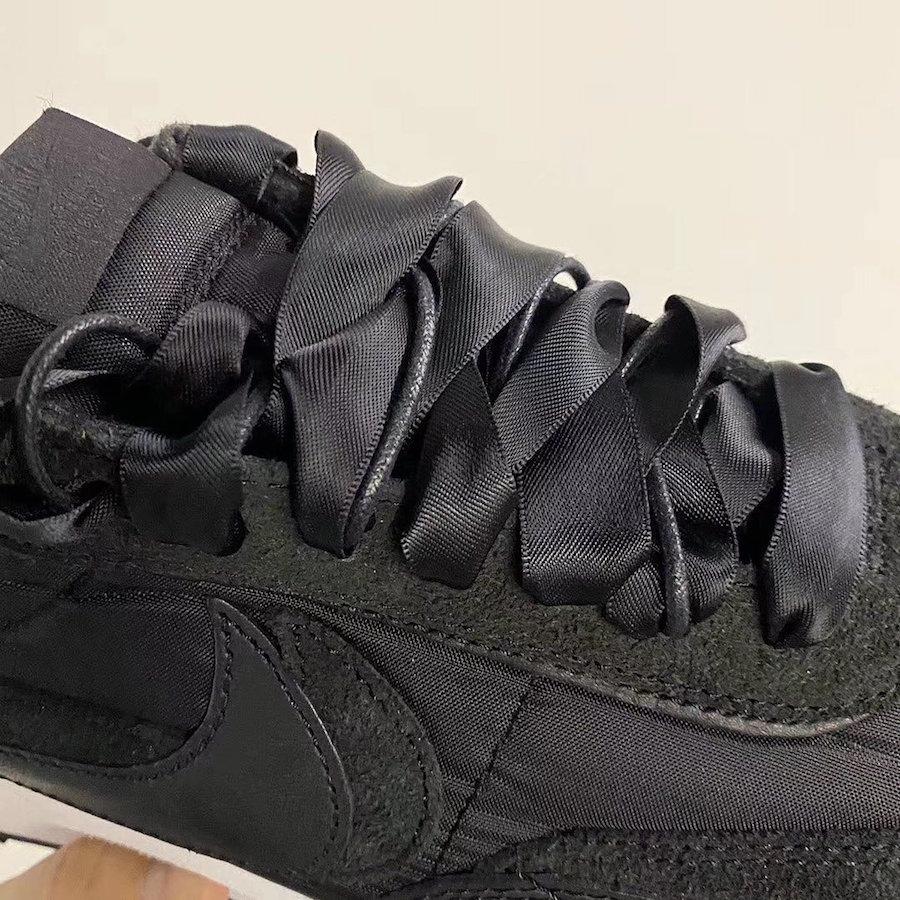 sacai Nike LDWaffle Black Winter 2020 Release Date Info