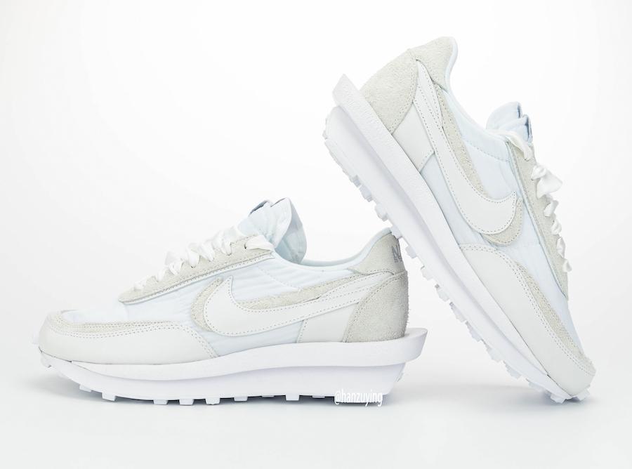 sacai Nike LDWaffle White Nylon BV0073-101 Release Date