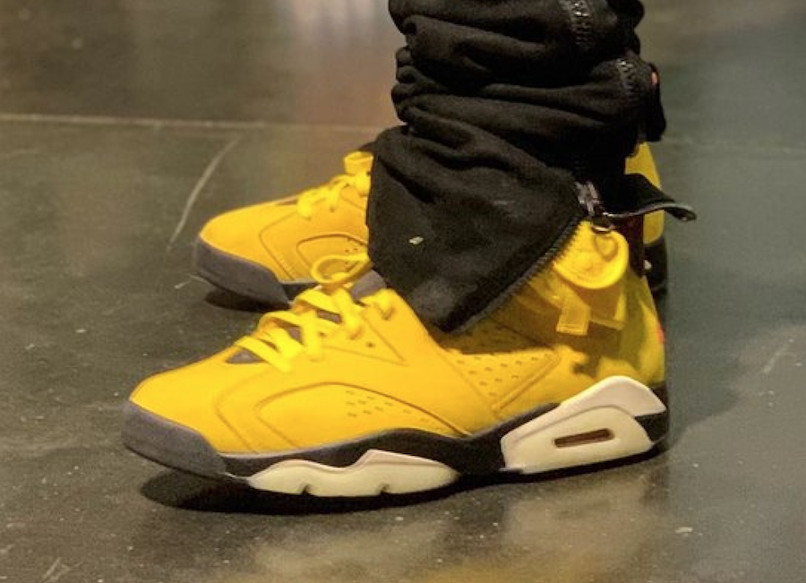Travis Scott Air Jordan 6 Yellow Cactus Jack