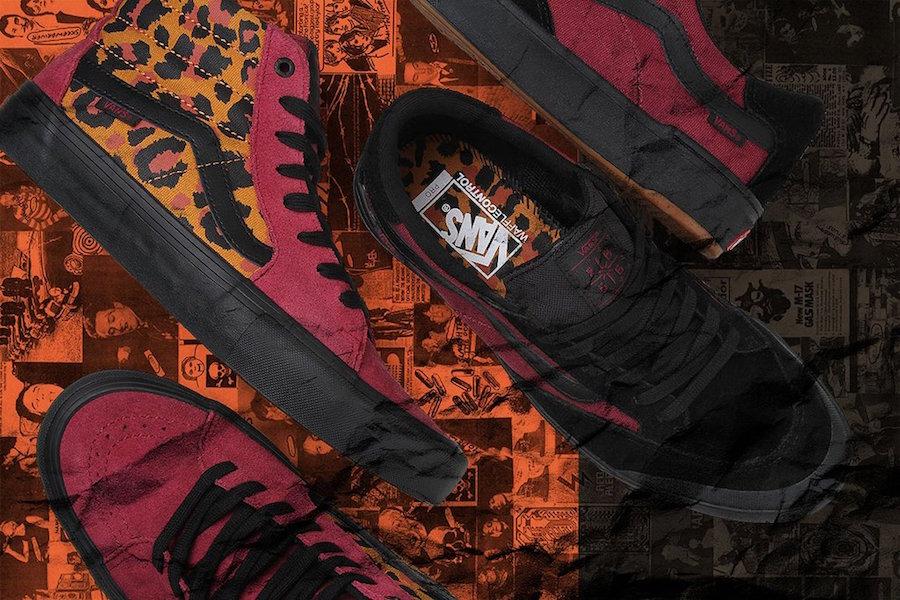 Vans Sk8 Hi Leopard Spring 2011   SneakerFiles