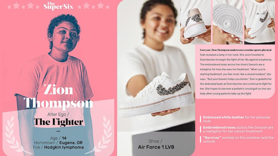Zion Thompson Nike Air Force 1 LV8 Doernbecher Release Date Info