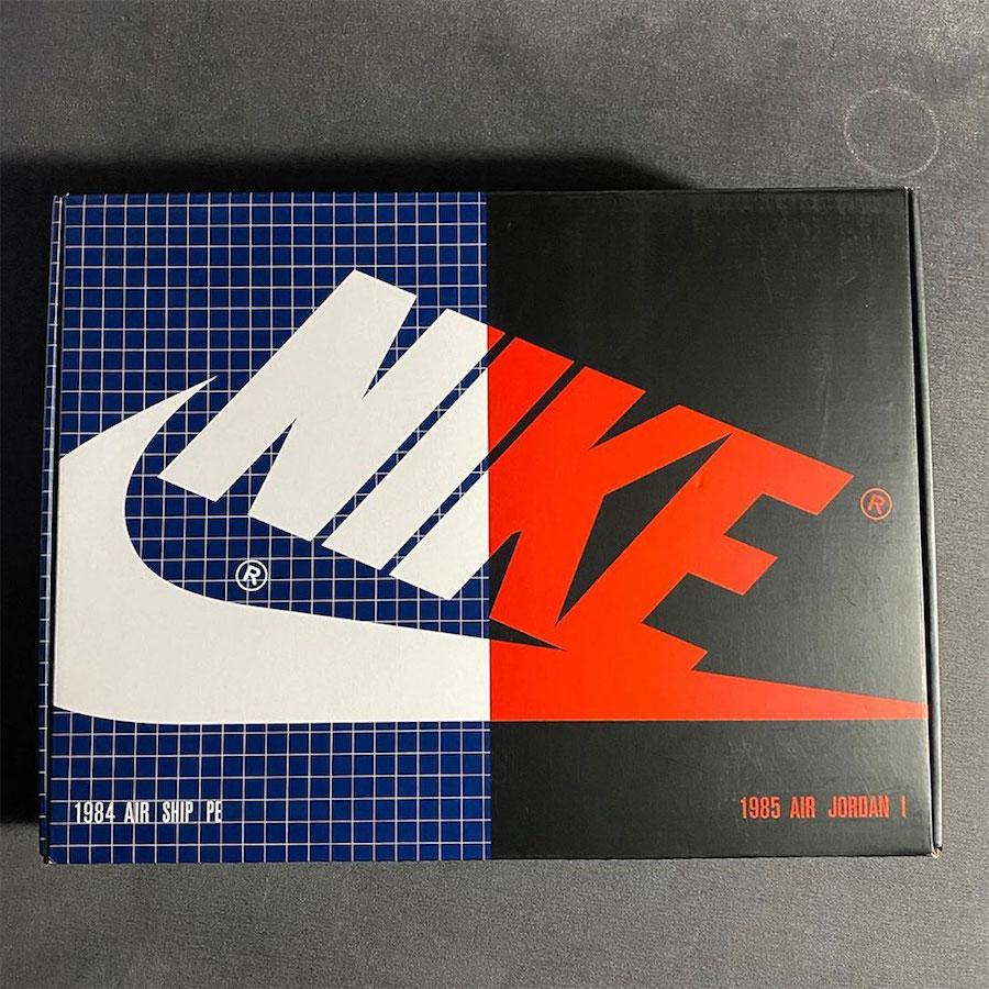 1984 Nike Air Ship 1985 Air Jordan 1 Pack Release Date