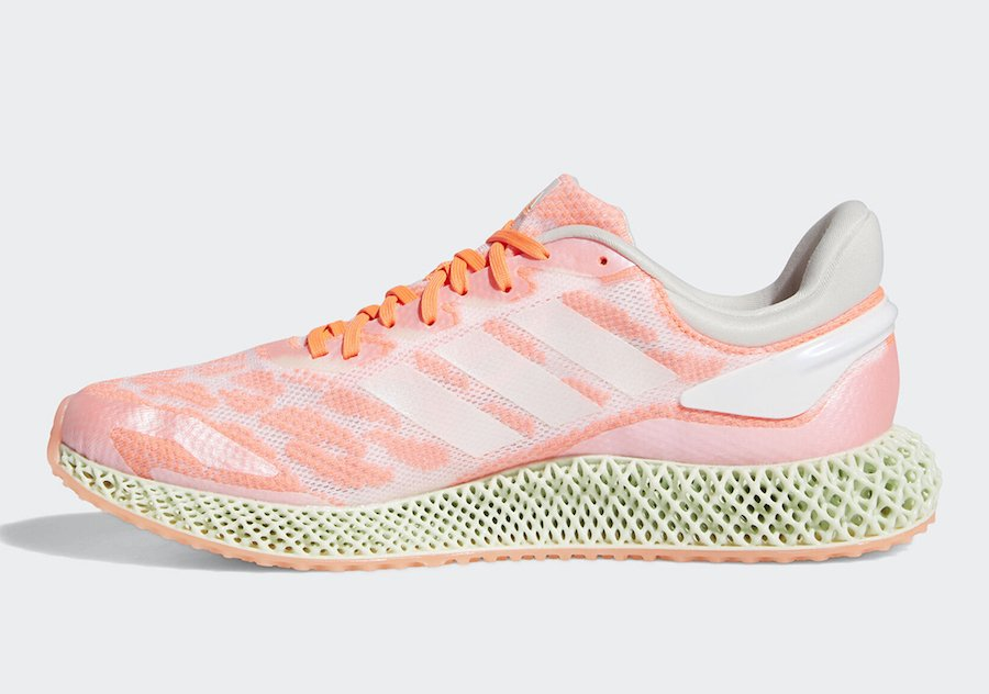 adidas 4D Run Signal Coral FW6838 Release Date Info