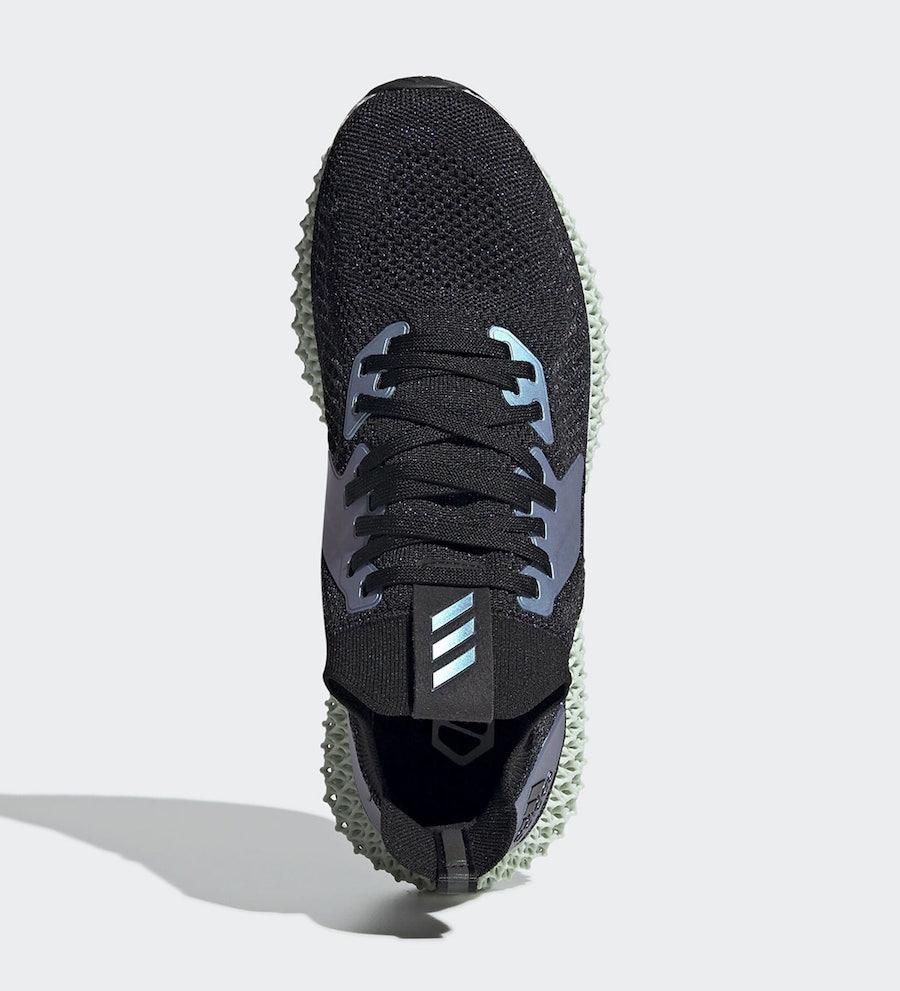 adidas Alphaedge 4D Black Iridescent FV6106 Release Date Info