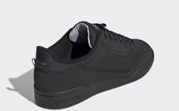 adidas Continental 80 Core Black Fleece FV4631 Release Date Info