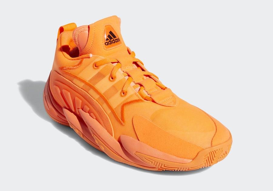 adidas Crazy BYW X 2.0 Orange EE6010 Release Date Info