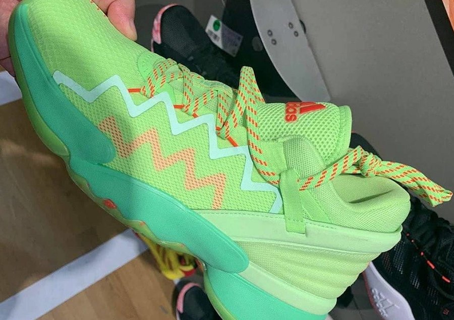 adidas DON Issue 2 Green Release Date Info