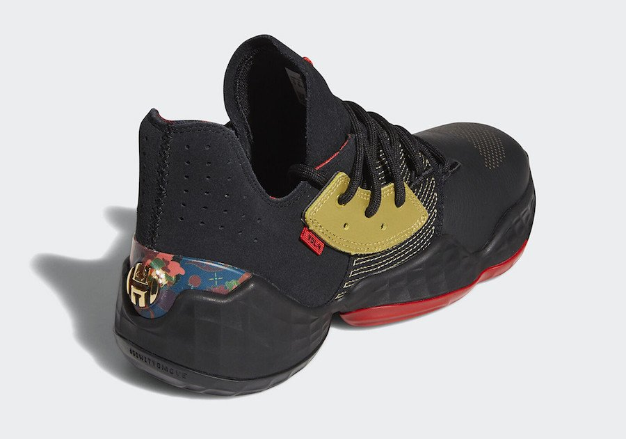 adidas Harden Vol. 4 Forbidden City Chinese New Year FW3136 Release Date Info