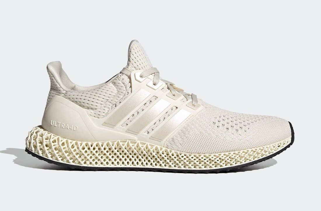 adidas Ultra 4D Core White FX4089 Release Date