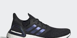 adidas Ultra Boost 2020 Core Black Blue Violet Metallic EG0692 Release Date Info