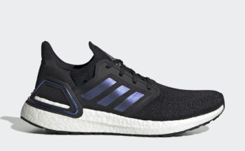 adidas Ultra Boost 2020 Core Black Blue Violet Metallic EG0692 Release Date Info