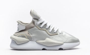 adidas Y-3 Kaiwa Silver Metallic FU9186 Release Date Info
